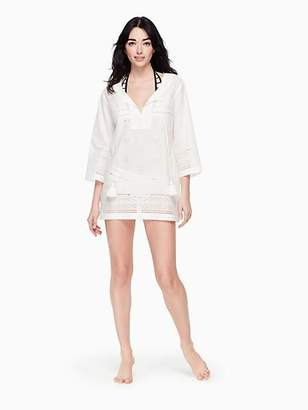 Kate Spade Isla vista embroidered tunic