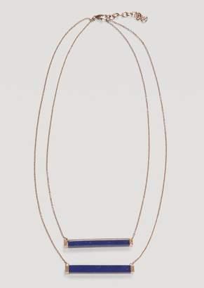 Emporio Armani Double Chain Necklace