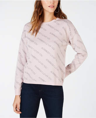 INC International Concepts I.N.C. Printed Sweater, Created for Macy's