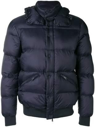 Emporio Armani padded hooded jacket