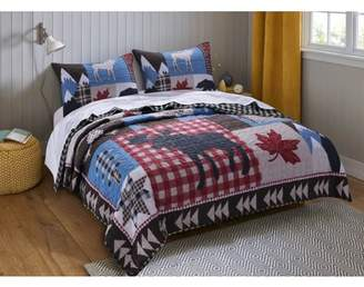 Global Trends Mount Trinity Lodge Style Quilt Set