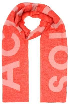 Acne Studios Toronty Logo wool-blend scarf