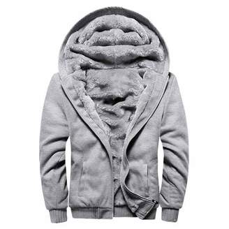 dextrad fashion-hoodies Autumn Thick Velvet Jacket Male Winter Coat Men Casual Hoodies Male Jacket Coat