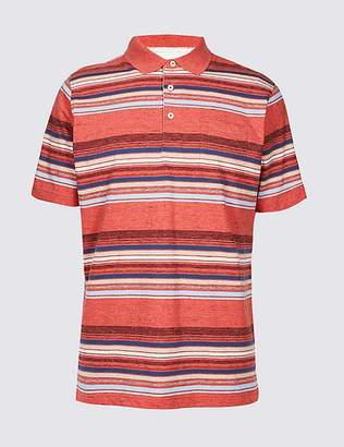 Marks and Spencer Striped Polo Shirt