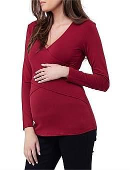 Ripe Maternity Embrace Long Sleeve Tee