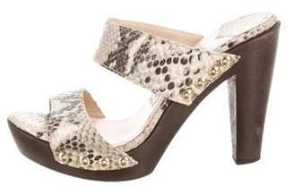Jimmy Choo Platform Slide Sandals
