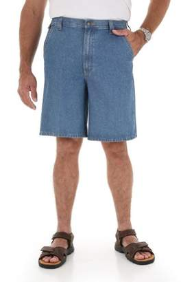 Wrangler Men's Tall Rugged Wear Flat Front Angler Short