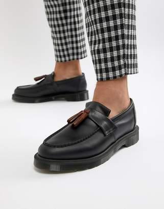 Dr. Martens Adrian tassel loafers in navy
