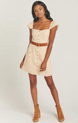 Show Me Your Mumu Sorrento Dress ~ Luxe Linen Sand