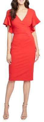 Rachel Roy Capri Ruffle Sheath Dress