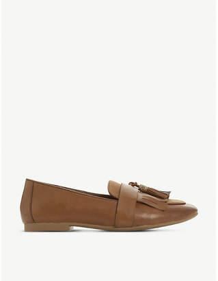 Dune Gilbertt tasselled leather loafers