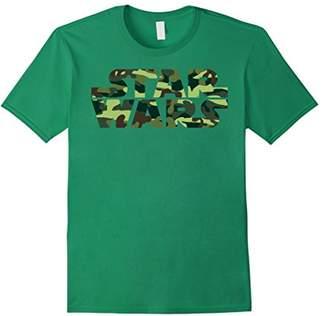 Star Wars Camo Logo Graphic T-Shirt