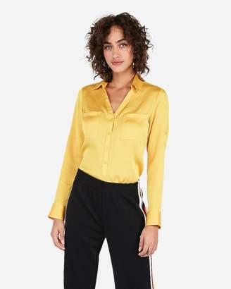 555e5ed28dc8f Slim Fit Convertible Sleeve Portofino Shirt - ShopStyle