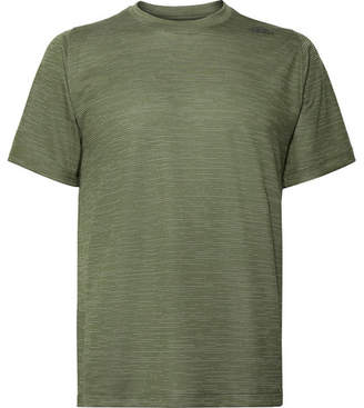 adidas Sport - FreeLift Tech Space-Dyed Climalite T-Shirt - Men - Army green