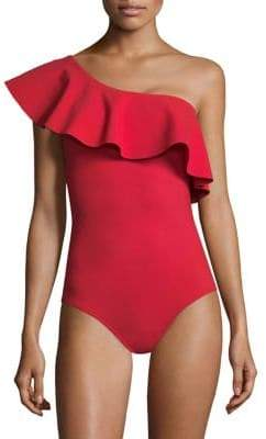 Karla Colletto Swim Zaha One-Shoulder One-Piece Swimsuit