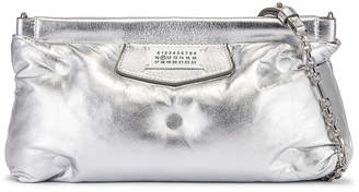 Maison Margiela Glam Slam Chain Crossbody Bag in Silver | FWRD