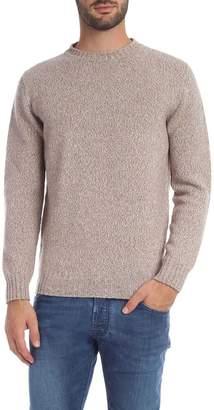 Melange Home Kangra Beige Crew-neck Pullover