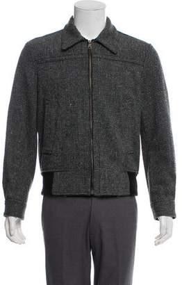 Marc Jacobs Wool Zip-Up Jacket