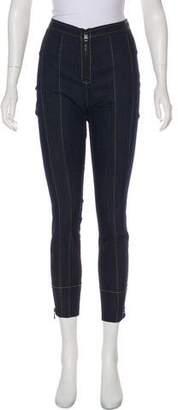 Cinq à Sept High-Rise Skinny Jeans