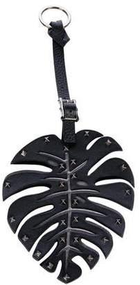 Valentino Rockstud Leaf Bag Charm