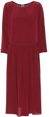 Max Mara S James silk dress