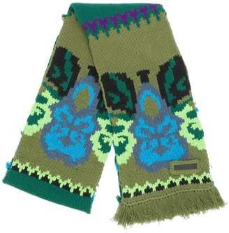 Prada floral pattern scarf