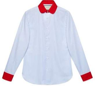Gucci Oxford stripe cotton shirt