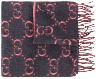 Gucci GG supreme logo scarf