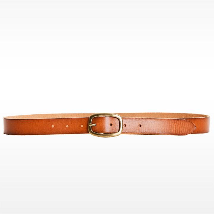Vintage Skinny Hip Basic Belt