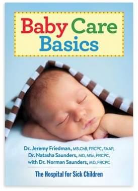 """""""Baby Care Basics"""" by Dr. Jeremy Friedman $19.95 thestylecure.com"""