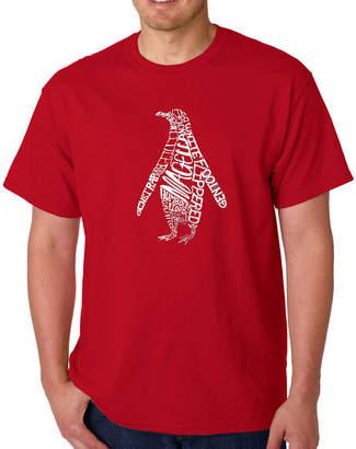 Original Penguin LOS ANGELES POP ART Los Angeles Pop Art Logo Graphic T-Shirt-Big and Tall