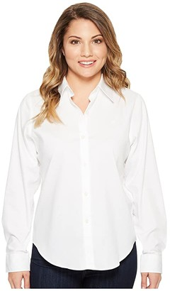 a1acb65b8d3 Lauren Ralph Lauren Petite Cotton Poplin Shirt