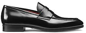 Santoni Men's Leather Penny Loafers
