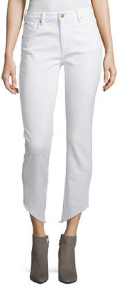 Loren Acynetic High-Rise Ankle-Length Cigarette Jeans