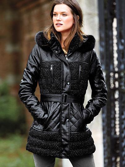 Victoria's Secret Quilted Puffer Coat