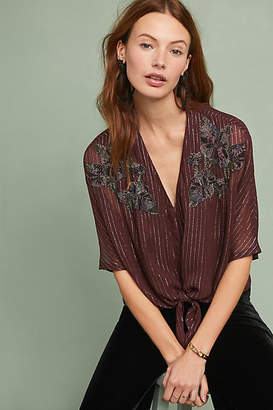 Ranna Gill Cassel Petite Buttondown