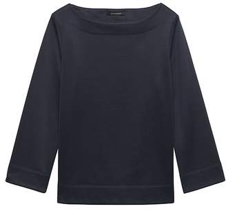 Banana Republic LIFE IN MOTION Cool-Comfort Fleece Wide-Sleeve Top