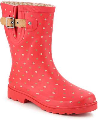 Chooka Classic Dot Mid Rain Boot - Women's