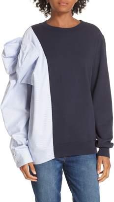 Clu Bow Colorblock Sweatshirt