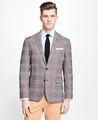 Brooks Brothers Two-Button Plaid with Deco Sport Coat