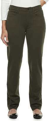 Croft & Barrow Women's Easy Care Straight-Leg Pants