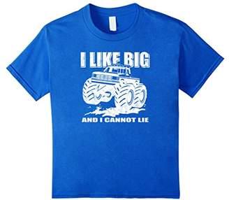 Funny I Like Big Trucks I Cannot Lie Giant Pickup T-Shirt