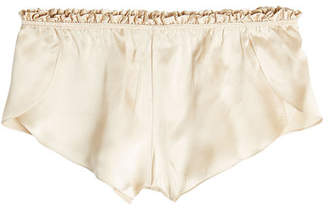 Three Graces Silk French Knicker Shorts