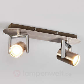2-flammiger GU10-LED-Strahler Luciana