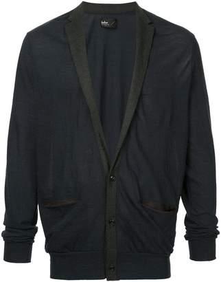 Kolor classic long-sleeve cardigan
