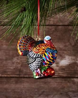 Mackenzie Childs MacKenzie-Childs Turkey Christmas Ornament
