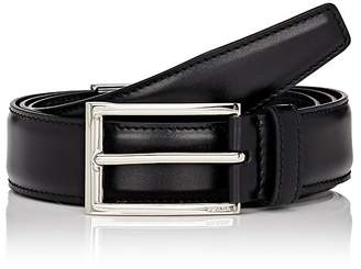 Prada Men's Vitello Lux Leather Belt