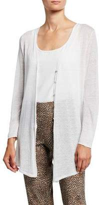 Nic+Zoe Plus Size Carefree Button-Front Cardigan