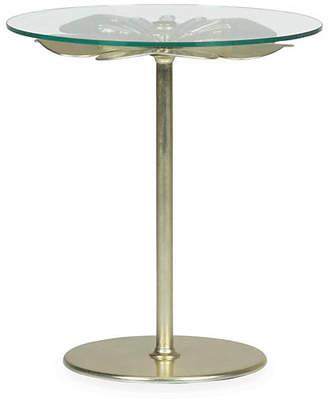 Kate Spade Carlin Side Table - Pale Gold Leaf
