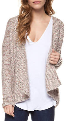 Dex Open-Front Textured Cardigan